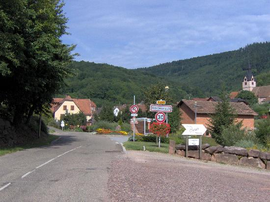 Reichsfeld, France: Town View