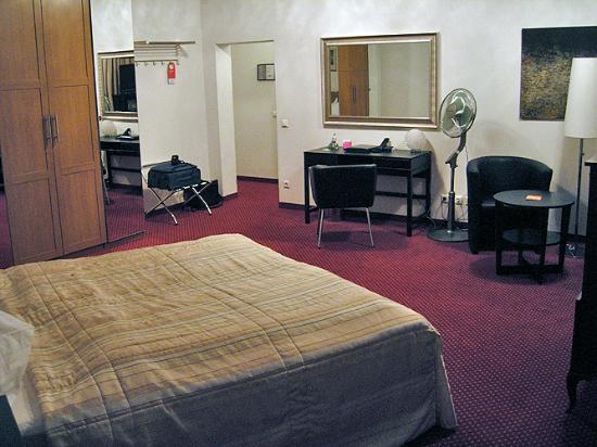 Tea Vienna City Hotel: Zimmer 506, sehr geräumig
