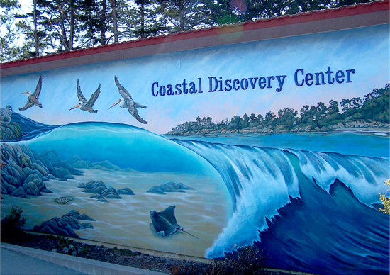 San Simeon, CA: Coastal Discovery Center Building