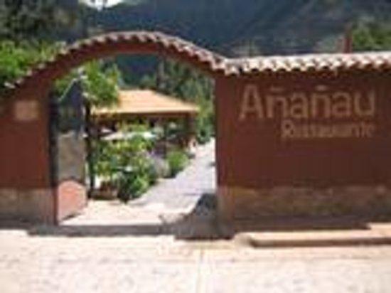 Ananau Restaurante: Ingreso Añañau