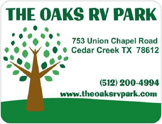 The Oaks RV Park Welcomes You!