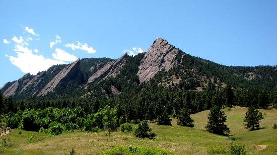 ‪‪Chautauqua Park‬: the one and only flatirons‬