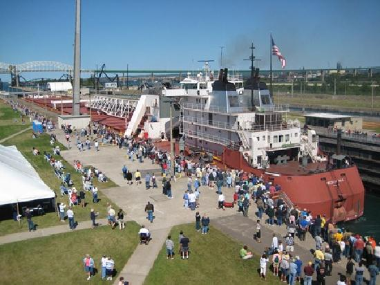 Sault Ste. Marie, MI: Soo Locks Engineers Day Last Friday in June