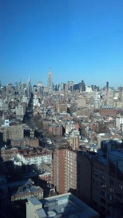 Trump SoHo New York: View fromthe room towards Midtown (32nd floor)