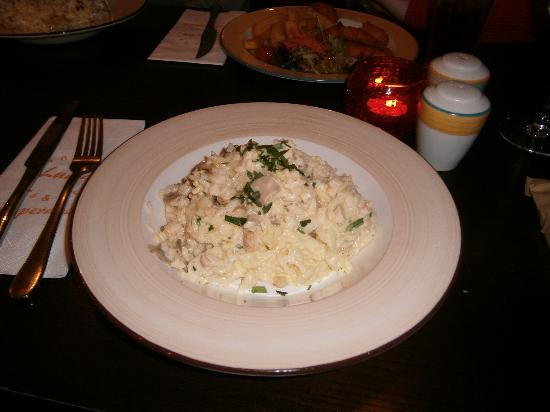 Lucia Wine Bar & Grill: Gorgeous Chicken & Mushroom Risotto
