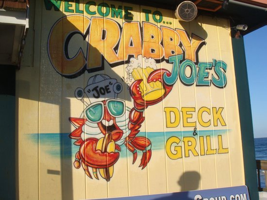 Crabby Joe's: Front of the resturant