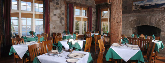 Crater Lake Lodge Dining Room interior