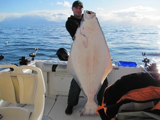 Foghorn Fishing Charters: Halibut Fishing