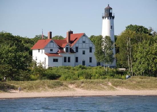 Sault Ste. Marie, MI: Point Iroquois Lighthouse