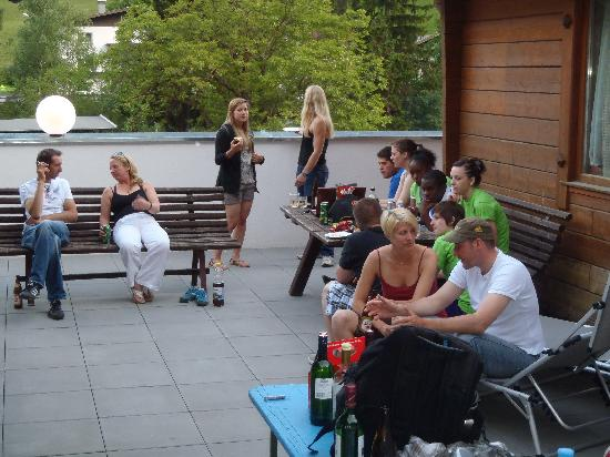 Sport Camp Tirol: BBQ Terrace