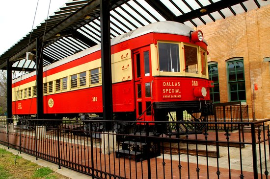 Plano, TX: Rail Car #360 at the Interurban Railway Museum