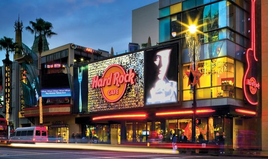 The Best Restaurants Near TMZ Celebrity Tour TripAdvisor - Map of hard rock cafes in the us