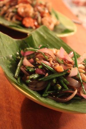 Thai Brasil: prato com lula