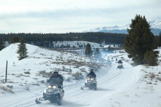 White Mountain Tours: More early season riding, White Mountain's Prospector Tour, February 2012