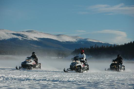 White Mountain Tours: One of White Mountain's two riding areas, the Prospector, February 2012