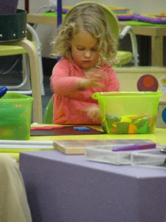 the spot... a Child's Museum : Interactive play stimulates curiosity, creativity, critical thinking and problem solving for chi