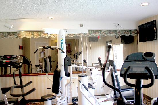 Quality Suites Altavista - Lynchburg South: Fitness Room
