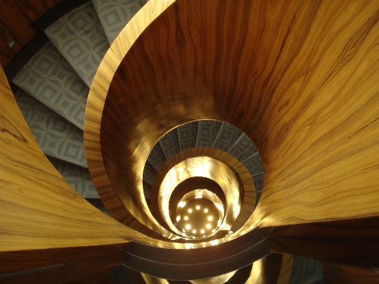 Las Alcobas Mexico DF: a sensação do hotel - linda escada