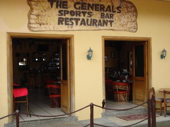 The General's Sports Bar & Restaurant: General - Entrance