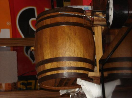 The General's Sports Bar & Restaurant : General - The Tequila Barrel