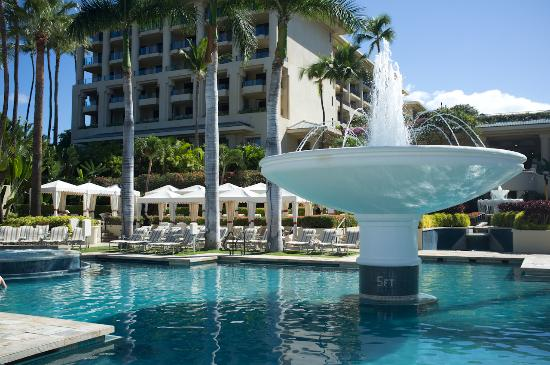 Four Seasons Resort Maui at Wailea: Fountain Pool