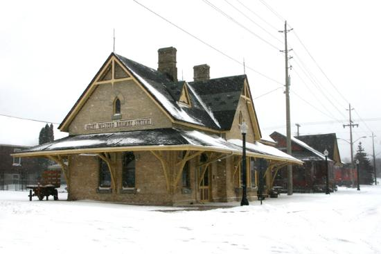 Station Arts Centre: Station Art Centre in Winter
