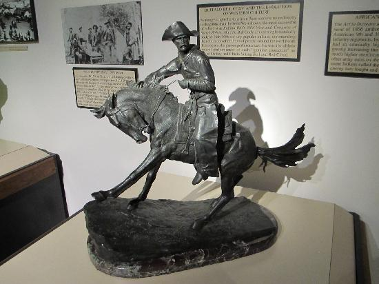 Berman Museum of World History: Remington Sculpture