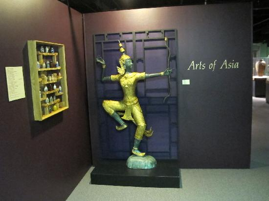 Berman Museum of World History: Arts of Asia Entrance