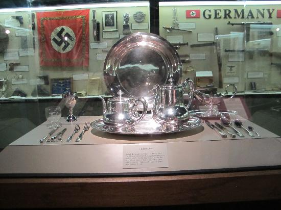 Berman Museum of World History: Hitler's Tea Service