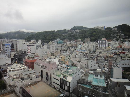 Hotel Dormy Inn Nagasaki: View from my window.