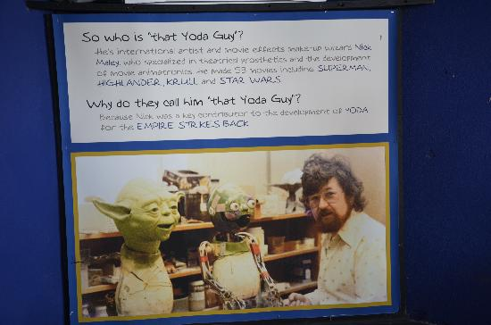 Mr Nick Maley and Yoda - Picture of Yoda Guy Movie Exhibit ...