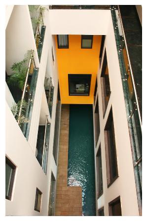Hotel Mosaic: pool veiw