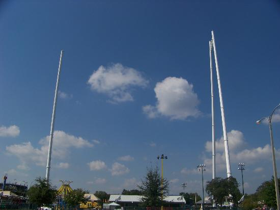 Go Karts Jacksonville Fl >> SkyCoaster - Picture of Fun Spot America Kissimmee ...