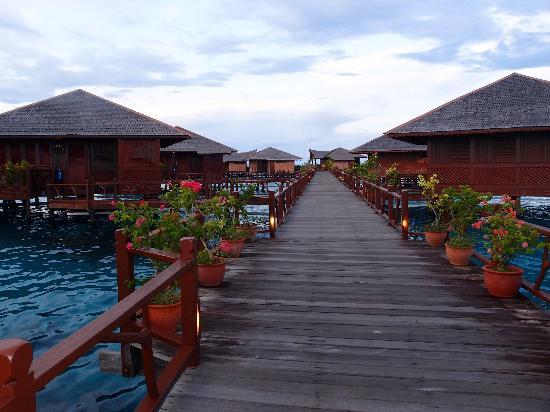 Sipadan Water Village Resort : コテージ
