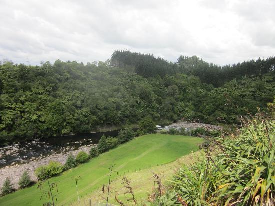 One Burgess Hill: River below