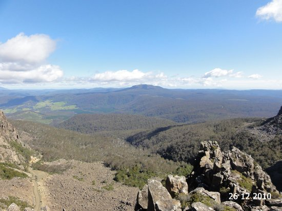 Ben Lomond National Park, Австралия: The valley view