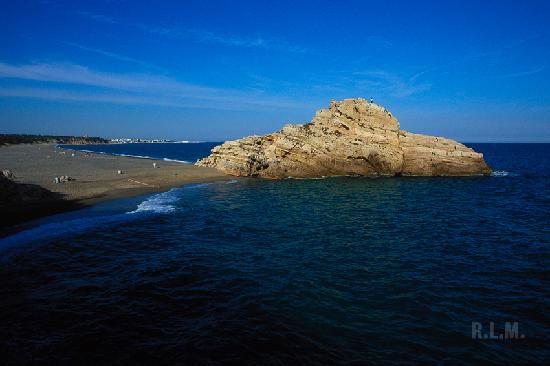 Оспиталет-дель-Инфант, Испания: Playa naturista detalle Torn