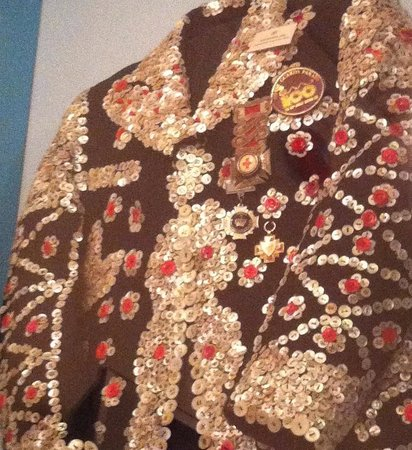Cuming Museum : Pearly King Jacket