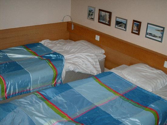 Cumulus Resort Airport Congress Center: Twin beds