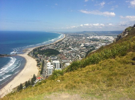 Mount Maunganui, New Zealand: View