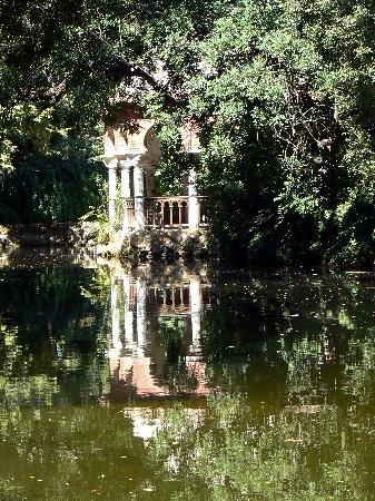 Parque de Maria Luisa: laghetto