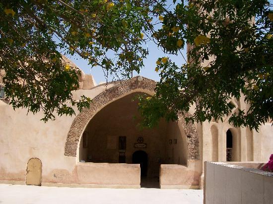 Wadi Natrun: the main church of the monastery