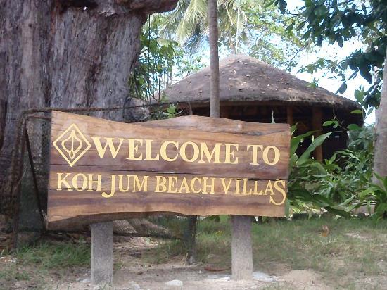 Koh Jum Beach Villas: welcome KJBV