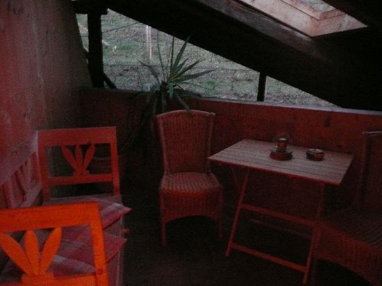 Agriturismo Sittnerhof: Balcone in camera