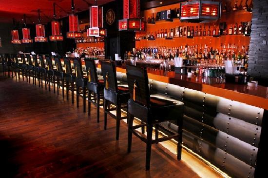 Bushido Restaurant: Bar area