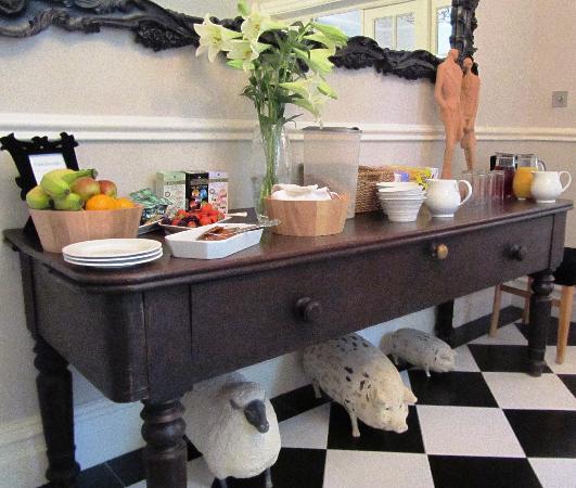 Oakthwaite: Breakfast Buffet