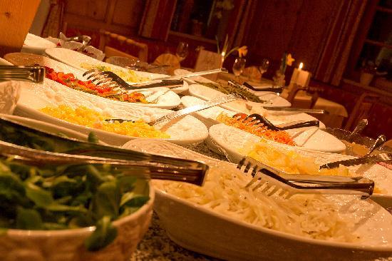 Genusshotel Das Sonnbichl: salatbuffet