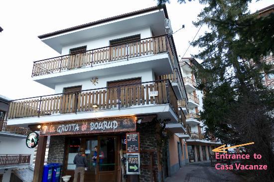 Casa Vacanze Bucaneve: The building