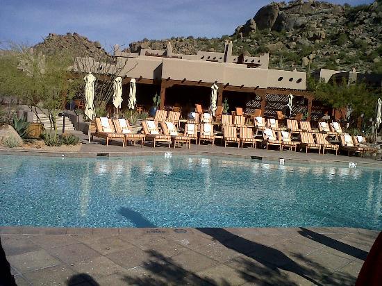Four Seasons Resort Scottsdale at Troon North: resting