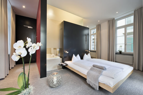 Limmathof Baden Hotel & Spa: Standard Junior Suite Hotel & Novum Spa